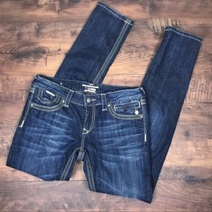 REROCK FOR EXPRESS skinny jeans size 6R